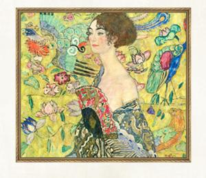 「Lady with Fan」1917年