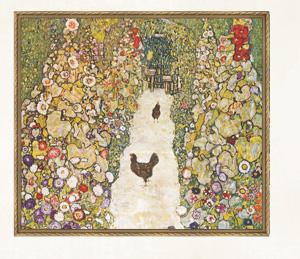 「鶏の居る庭の小道」1916年