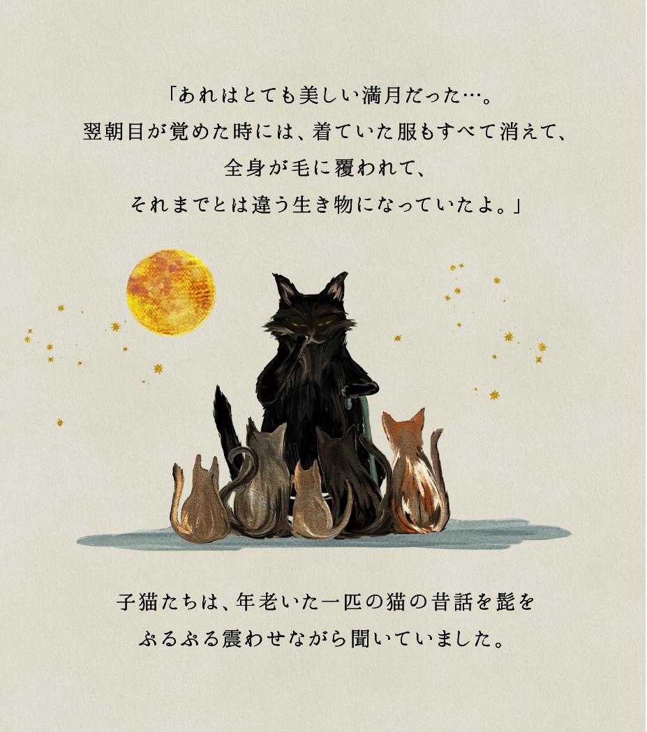 年老いた一匹の猫の昔話